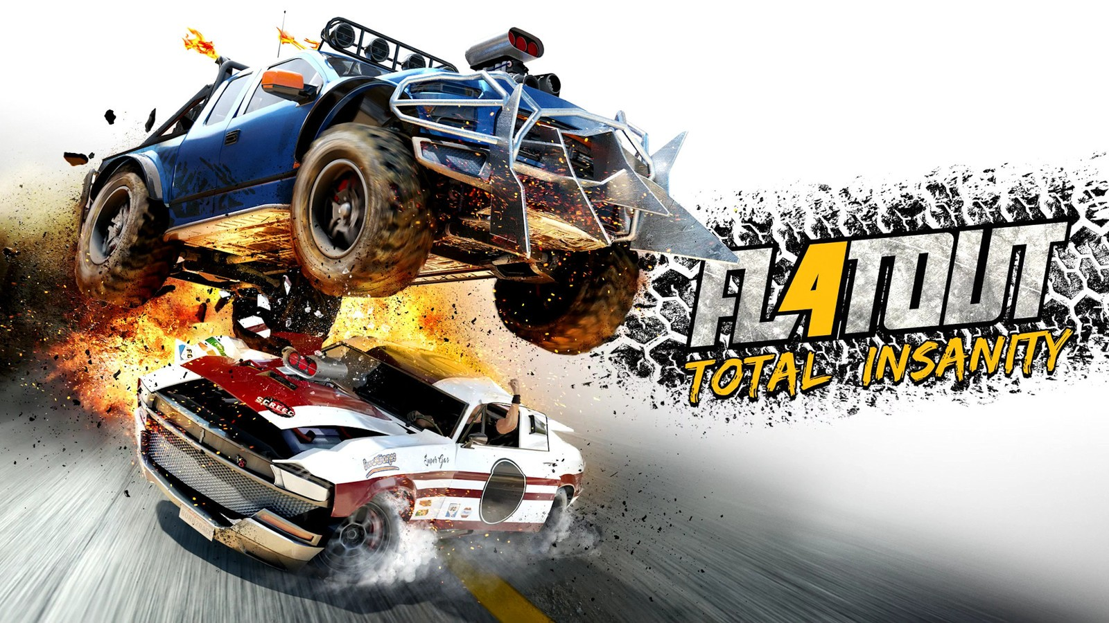 Tracks For Vehicles >> FlatOut 4 Total Insanity Torrent Download - CroTorrents