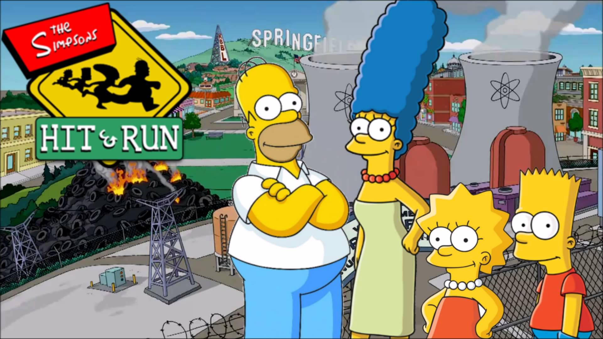 5 reasons why the simpsons hit and run rules.